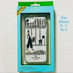 NIB Kate Spade iPhone Case for iPhone 8, 7, 6s, 6